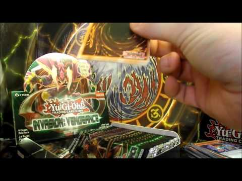 Yu-Gi-Oh! Sealed Booster PACK (9 Cards) - Invasion: Vengeance (1st Ed)