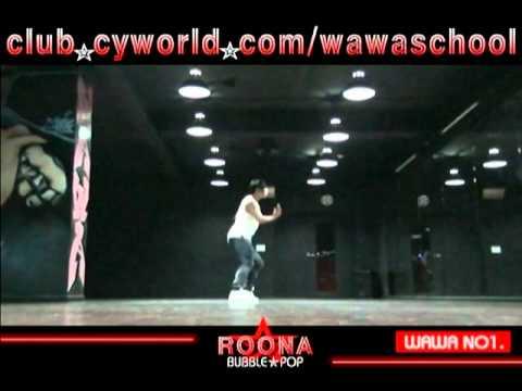 WAWA DANCE ACADEMY HYUNA BUBBLE POP DANCE STEP MIRRORED MODE