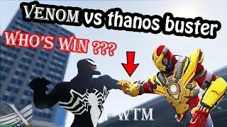 Trận Đấu Nảy Lửa Của Thanos Vs Venom Trong Gta5 | watermangamer