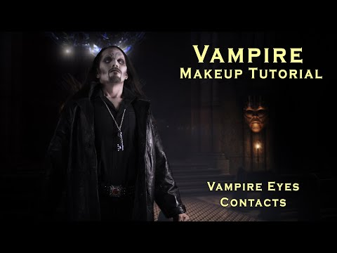 Male and Female Vampire Makeup Tutorials - YouTube