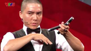 Vietnam's Got Talent 2014 - TẬP 06 -Giám khảo Huy Tuấn mất điện thoại như thế nào?-Nguyễn Việt Duy