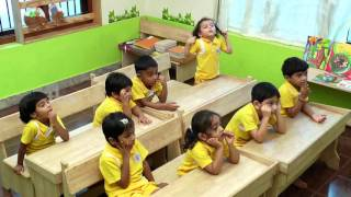 poorna classroom demonstration English