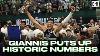 Giannis Drops 50 Points In HISTORIC Game 6 NBA Finals Win