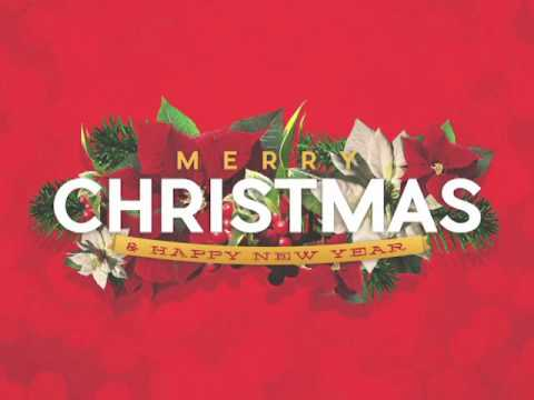 Merry Christmas Happy New Year Christian Motion Video Background