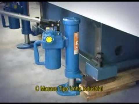 Macaco Hidráulico Tipo Unha Industrial Miu5000 Bovenau - 5 Toneladas - Vídeo explicativo