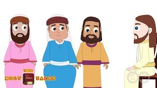 Jesus is Anointed I Animated Bible Story For Children| HolyTales Bible Stories