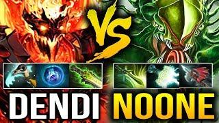 Dendi [Shadow Fiend] VS No[o]ne [Viper] NAVI VS VP - Dota 2 7.07c