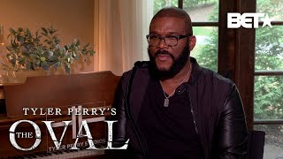 """Tyler Perry & The Cast """"The Oval"""" Reveal Why You'll Love The Show! 