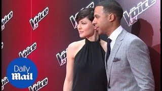 Emma Willis and Marvin Humes appear at The Voice UK launch - Daily Mail