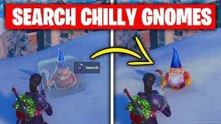 FORTNITE Search Chilly Gnomes Challenge in 100 Seconds — ALL 7 LOCATIONS GUIDE (Week 6 Challenges)