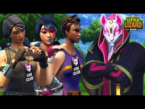 ALL THE NOOBS FALL IN LOVE WITH DRIFT - Fortnite Short Film