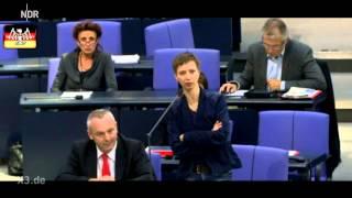 Neulich im Bundestag: Resistente Keime
