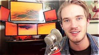 Top 10 MOST EXPENSIVE & CRAZIEST Youtuber Gaming Setups! (PewDiePie, Unbox Therapy, Marz Bar)