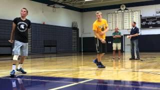 Watch as recruit interest Brandon Allen from Haslett talks about his basketball career