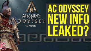 Assassin's Creed Odyssey NEW INFO LEAKED?! Legendary Quests, Bosses & More!  (Assassin's Creed 2018)