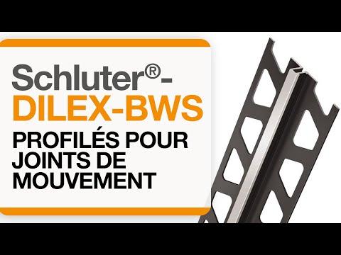 Comment installer un profilé de joint de mouvement dans une aire carrelée : Schluter®-DILEX-BWS