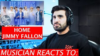 Musician Reacts To BTS | Home | Jimmy Fallon