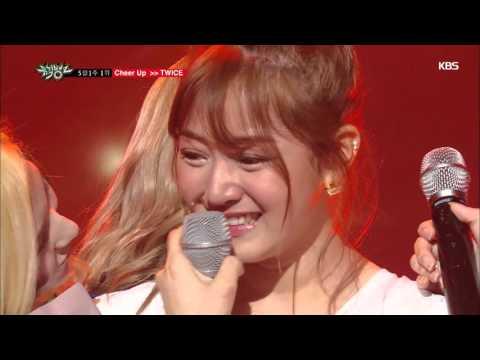 [뮤직뱅크]5월 1주 1위 TWICE - Cheer Up 세리머니 Cut