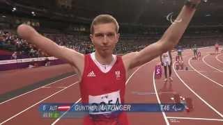 Athletics - Men's 400m - T46 Final - London 2012 Paralympic Games