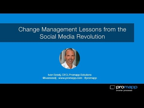 Change Management Lessons from the Social Media Revolution