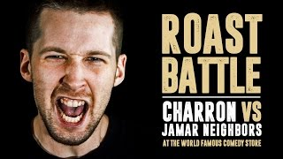 KOTD - Comedy - Charron vs Jamar Neighbors   #RoastBattle