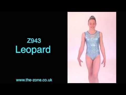 Leopard All-Over Print Sleeveless Gymnastics Leotard