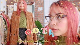outfits of the week + life in nyc!