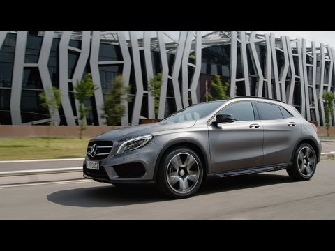 Mercedes-Benz TV: GLA - the new compact SUV of Mercedes-Benz