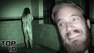Top 10 Scary YouTuber Discoveries Caught On Camera
