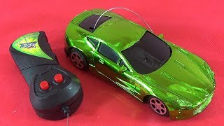 UNBOXING BEST : Remote control green car RC gift surprise