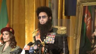 Dictator Press Conference - Dictator meets Israeli Journalist