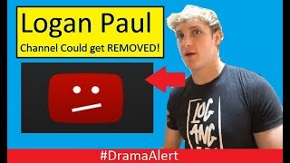 Logan Paul Channel Termination ATTEMPT! #DramaAlert Man tried to Kill YouTubers! KSI call outs!