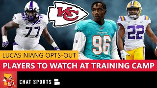 Chiefs News: Lucas Niang Opts Out + 7 Players To Watch At 2020 Kansas City Chiefs Training Camp
