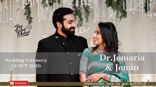 Dr.Jomaria & Jomin | 10 Oct 2020 | Wedding | Live stream