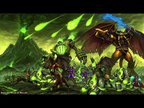 Warcraft 3 - Malfurion´s quest - Council of the Legion ( interlude )