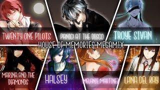 ◤Nightcore◢ ↬ MEGAMIX House of Memories [Switching Vocals   Megamix]