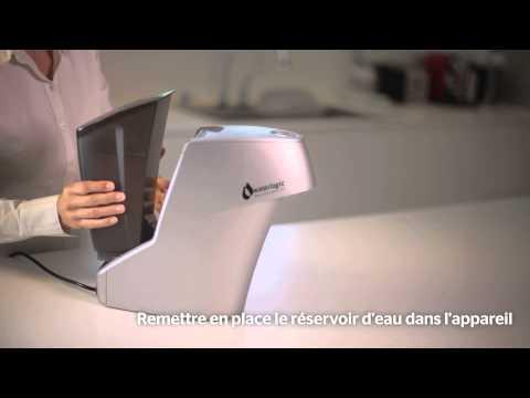 Purificateur d'eau hybride Waterlogic -- Vidéo de maintenance en Français