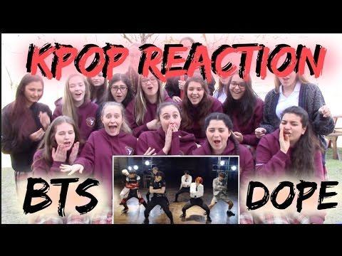 BTS 방탄소년단 Dope Reaction [Classmates Edition]