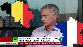 'Belgium kept hiding on the biggest stage, but Pogba was mature' - Jose Mourinho on France v Belgium
