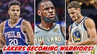MARKELLE FULTZ & BEN SIMMONS TRAINING UPDATE! KEVIN DURANT & KLAY THOMPSON JOINING LEBRON   NBA News