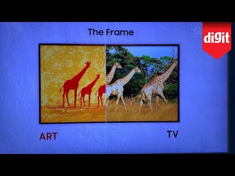 Heres the Newest Generation of Samsungs The Frame 4K QLED TV from CES 2020