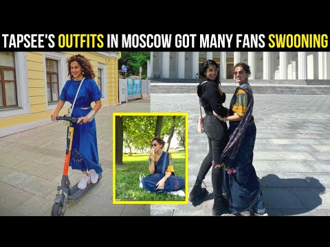 Taapsee Pannu stuns in traditional outfit as she explores Russia with her sister