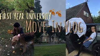 First Year University Move In Vlog!    there were tears...