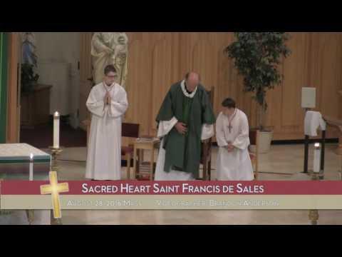 8/28/16 - Sacred Heart Saint Francis de Sales