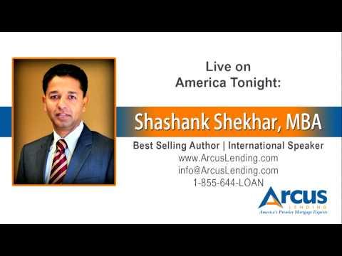 6/10/15 → Shashank Shekhar, CEO of Arcus Lending live on national News Radio