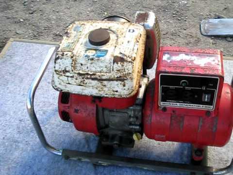 HONDA GENERATOR E800 | VideoMoviles.com