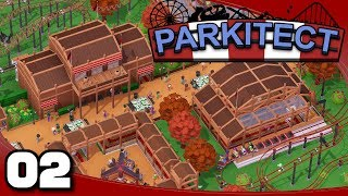 Parkitect - Ep. 2: Finishing Maple Meadows | Parkitect Gameplay