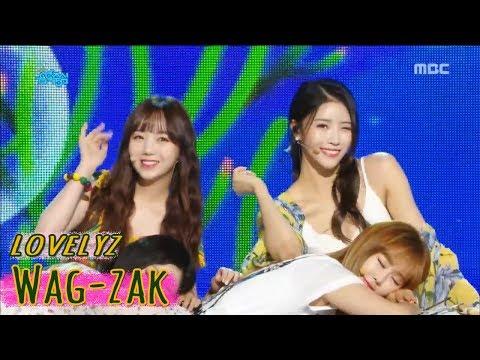 [Comeback Stage] Lovelyz - Wag-zak  , 러블리즈 - 여름 한 조각  Show Music core 20180630