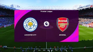 Leicester City vs Arsenal - Carabao Cup 2020/21 Gameplay