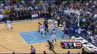 2010 Playoffs Lakers vs Jazz Game 4 Highlights - HD